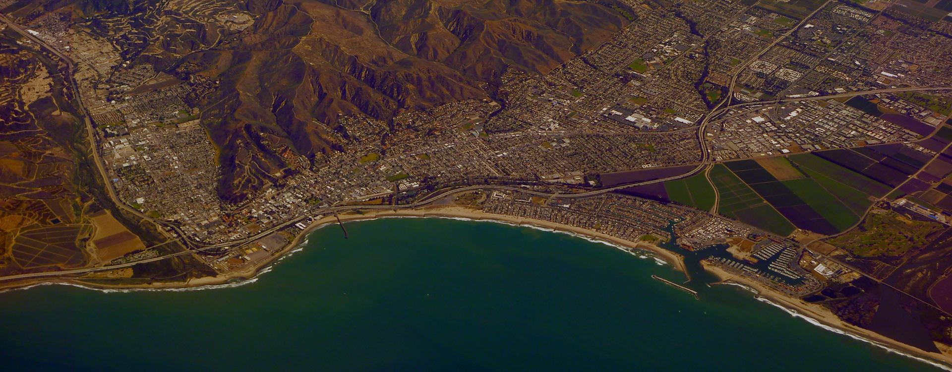 Ventura County California Sky View