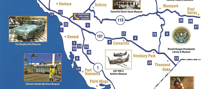 Find Museums with our Map & Brochure
